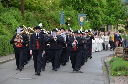 Prozession am Weißen Sonntag